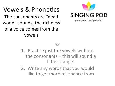 Brighton Singing Lessons - Singing Pod Slide